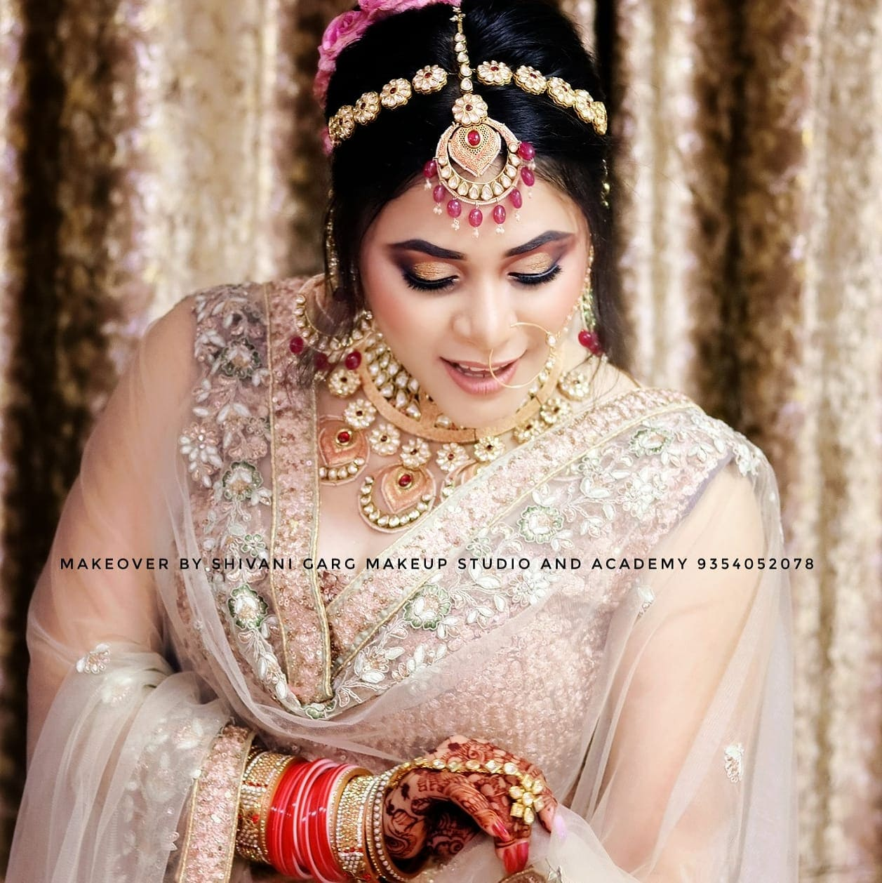 best bridal makeup artist in delhi with price