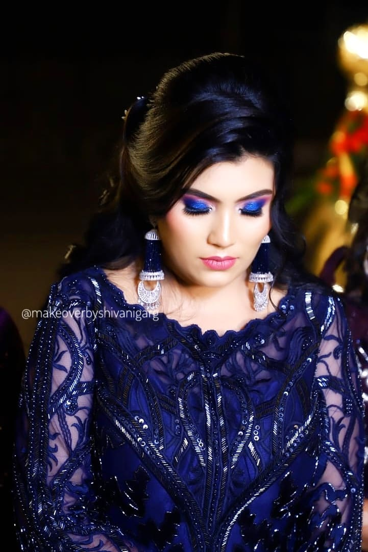 party makeup charges in delhi