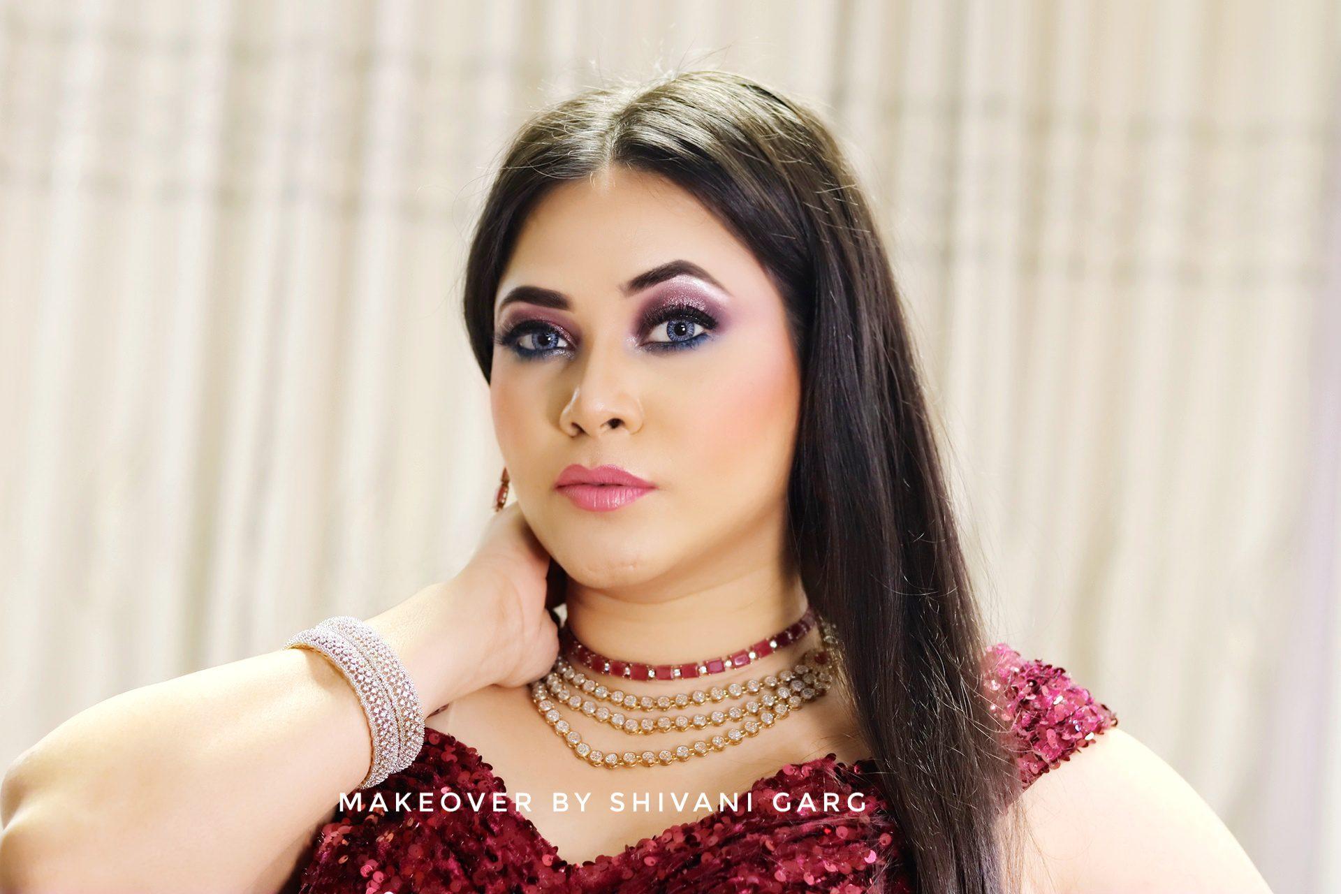 party makeup in delhi