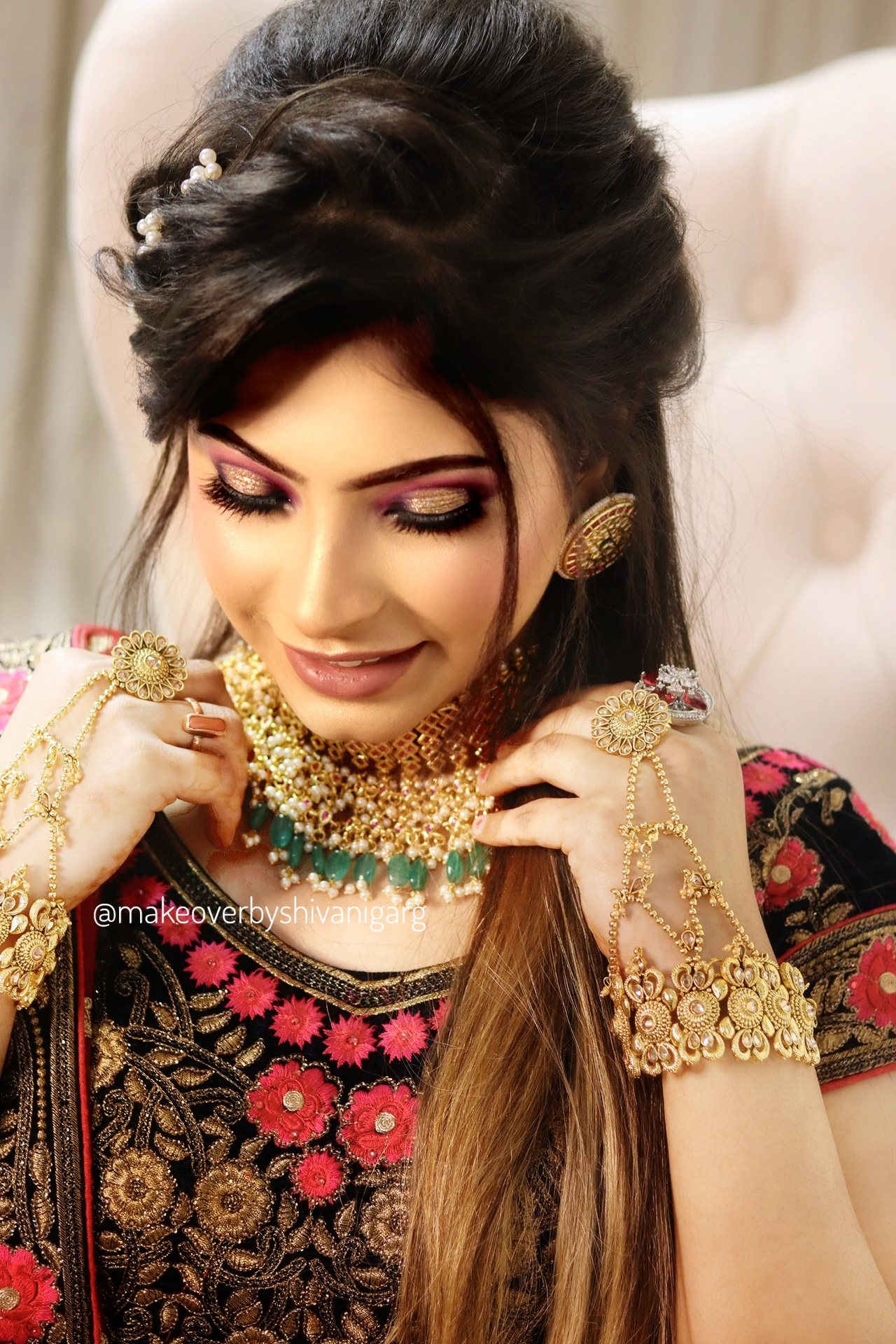 best bridal makeup artists delhi