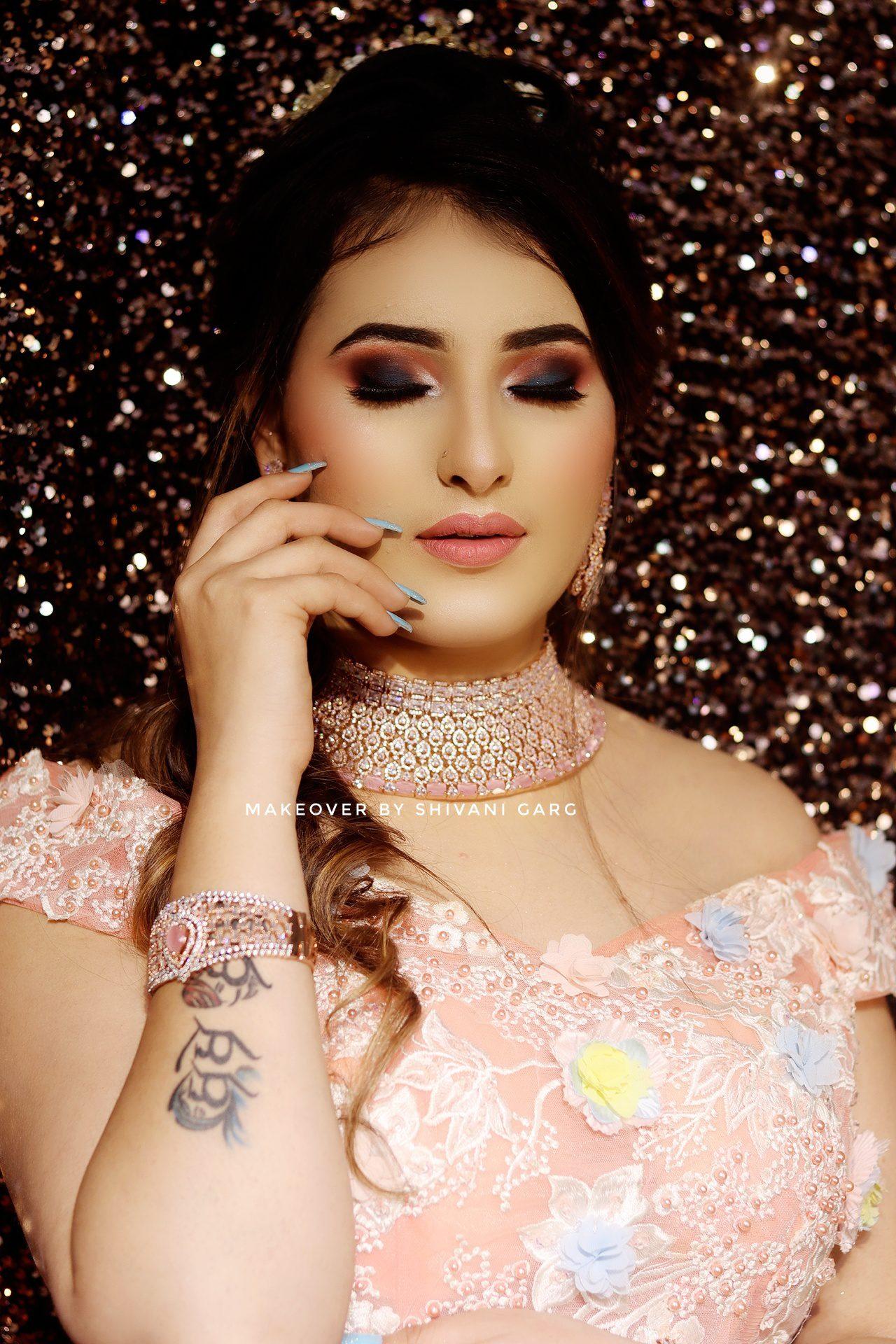 party makeup artists in delhi